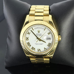 Gold Rolex Day Date II