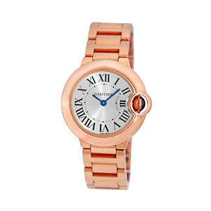 $7,000.00 Loan On Cartier Rose Gold Ballon Bleu